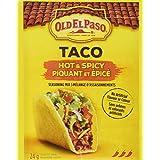 Old El Paso Hot and Spicy Taco Seasoning Mix, 24 Gram