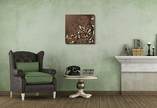 Brown Floral Pattern