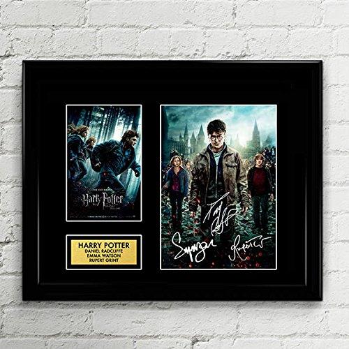 Harry Potter Cast Signed Autographed Photo Mat Custom Framed 11 x 14 Replica Reprint Rp