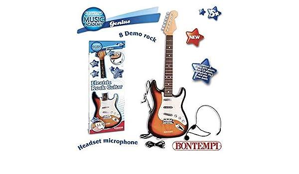 Guitarra eléctrica con micrófono juguete Giochi Educativi Aprendizaje Juguete Juegos Idea regalo Navidad # AG17: Amazon.es: Hogar