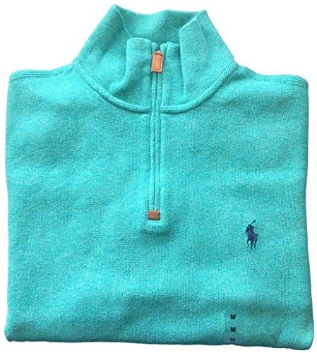 polo-ralph-lauren-mens-half-zip-french-rib-cotton-sweater-div-green-l