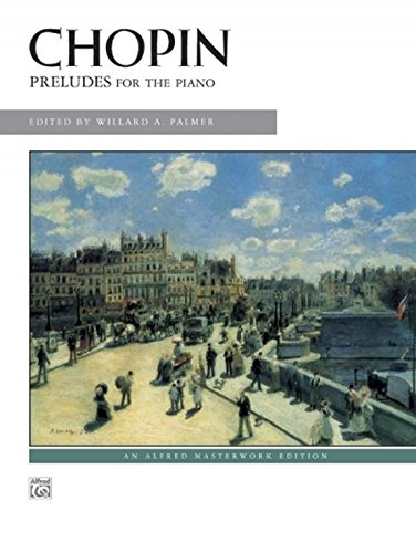 Frederic Chopin Sheet Music - Chopin - Preludes (Alfred Masterwork Edition)