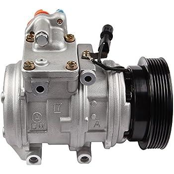 ECCPP Fits Kia Sportage 2005-2007 2.7L A/C Compressor w/Cluth Hyundai Tucson 2005-2009