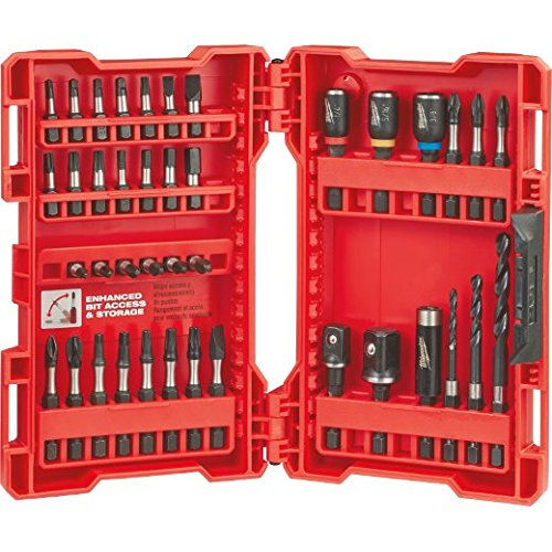 (Milwaukee Electric Tool 48-32-4006 Shockwave Bit Set (40 Piece))