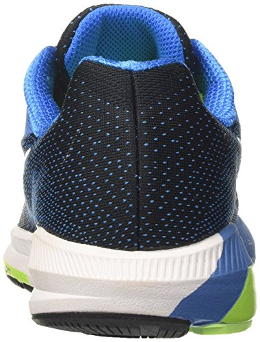 Nike Herren Air Zoom Structure 20 Laufschuhe Schwarz (Black/white-photo Blue-ghost Green)