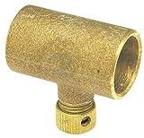 Nibco Cast Bronze Drain Coupling, C x C Connection Type, 1/2 Tube Size 701D 1/2-1 Each