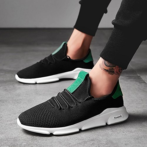 Fitness Running Jogging Casual Training for Sneakers Black Athletic Mens Fashionable Shoes qwgRRa