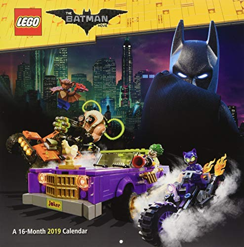 Book cover from 2019 The Lego Batman Movie Wall Calendar by Trends International