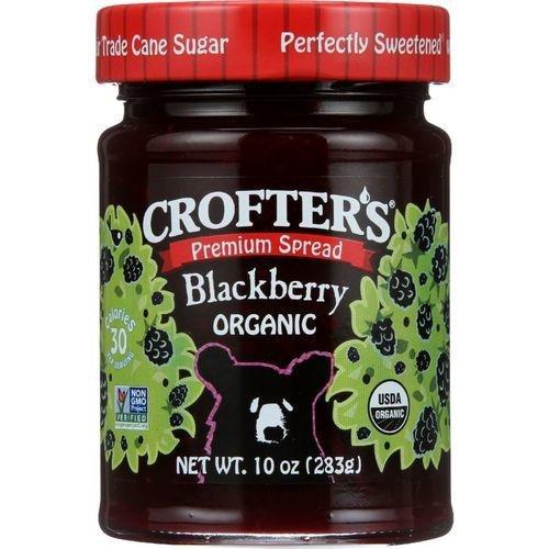 Crofter s Organic Organic Premium Spread Seedless Blackberry 10 oz 283 g