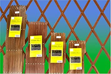 Expanding Green Wooden Trellis 8mm Thick,garden Fencing