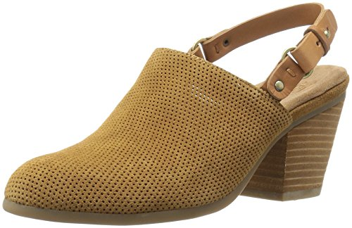 Aerosoles Women's Vitamin Mule, Dark Tan Combo, 8.5 M US