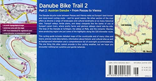 Danube Bike Trail 2: Austrian Danube: From Passau to Vienna. Maps ...
