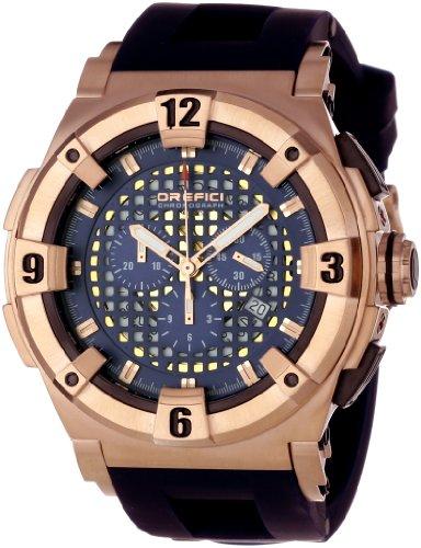 Orefici Unisex ORM14C4808 Evolution One of a Kind Bezel Crystal Watch