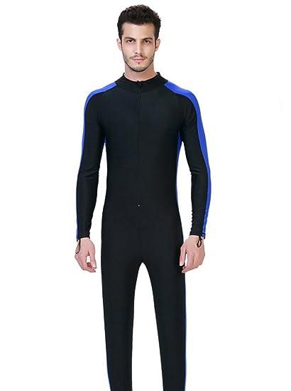 2991bfa094 Fortuning s JDS Men s UPF 50+ long sleeve swimwear full body swimming  diving suit