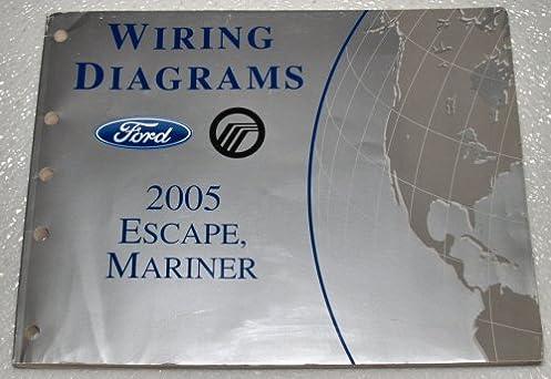 2005 ford escape, mercury mariner wiring diagrams ford motor Kia Forte Wiring Diagram
