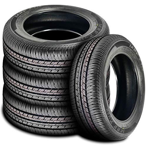 Set of 4 (FOUR) MRF ZV2K Touring All-Season Radial Tires-205/60R16 92H