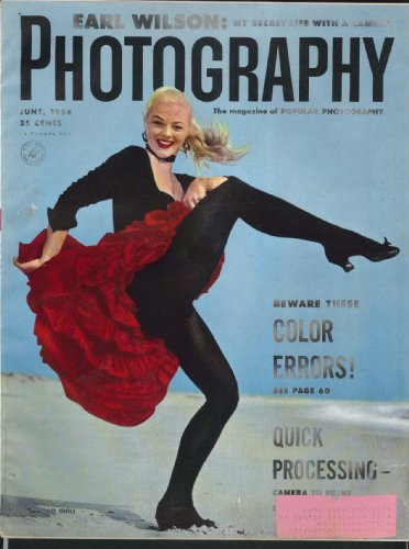 PHOTOGRAPHY Earl Wilson Leica M-3 Ansco Omega 120 + 6 1954