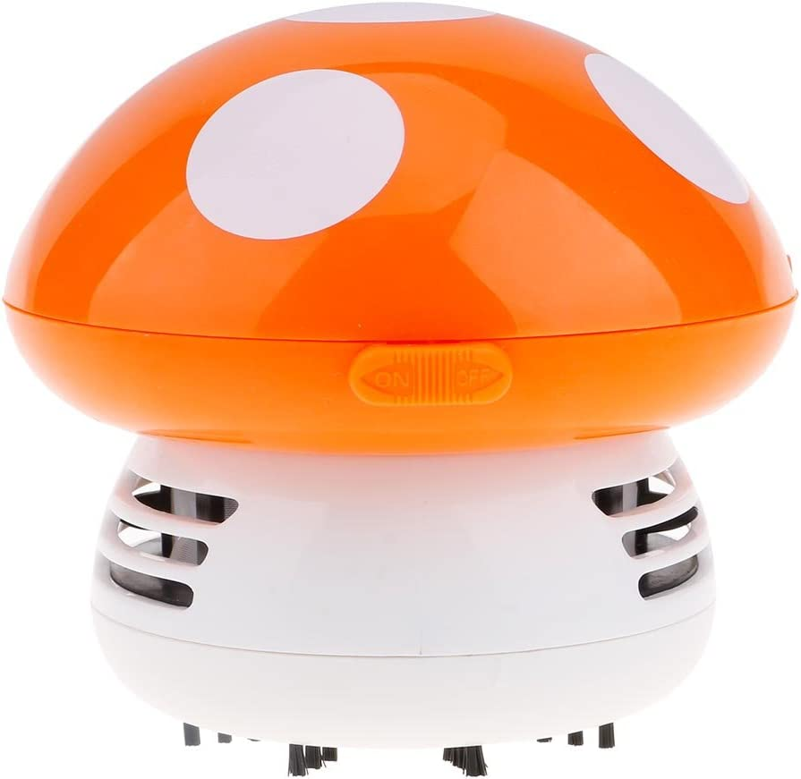 VANKER Mini seta aspiradora vacío balayeuses de limpieza de mesa (naranja): Amazon.es: Hogar