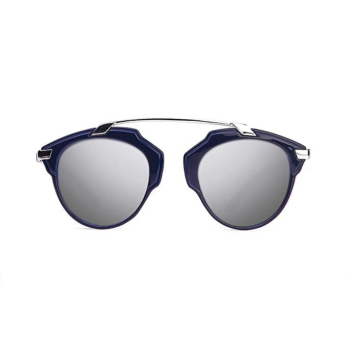 D. Franklin Dubai Gafas de sol, Azul, 54 Unisex Adulto ...