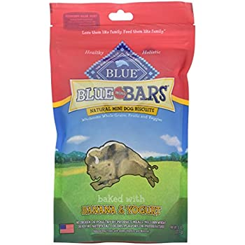 Amazon.com : Blue Buffalo Wilderness Blue Mini Bars Dog