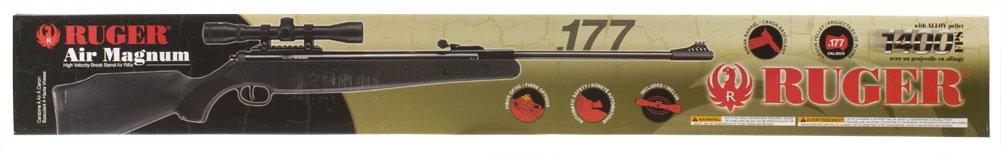 Ruger Air Magnum Break Barrel Pellet Gun Air Rifle with 4x32mm Scope, .177 Caliber