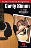 Carly Simon - Guitar Chord Songbook, Carly Simon, 148035094X
