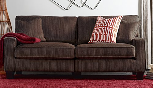 Serta RTA Palisades Collection 78″ Sofa in Riverfront Brown