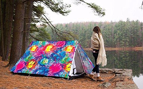 ZHUDJ Outdoor Camping, Camping, 2-3 Bunt, Personen, Zelte, Parks, Bunt, 2-3 Individuell, Kreativ, High-End-Anti Sturm, Selbstfahrer Reisen Zelt, Blume 77b64f