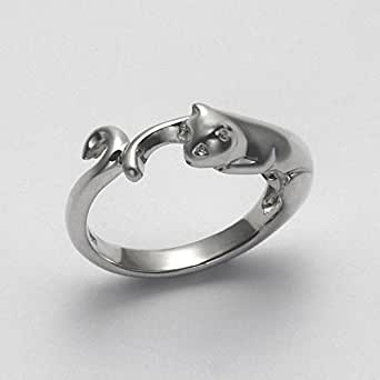 Smooth Cat Band Ring