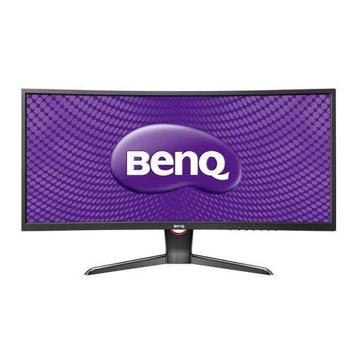 BenQ XR3501 88,90 cm (35 Zoll) Curved Monitor (HDMI, Displayport, 4ms Reaktionszeit, 2560 x 1080, 144 Hz, AMVA Panel) schwarz/rot