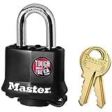 Master Lock 311D Black Outdoor Padlock