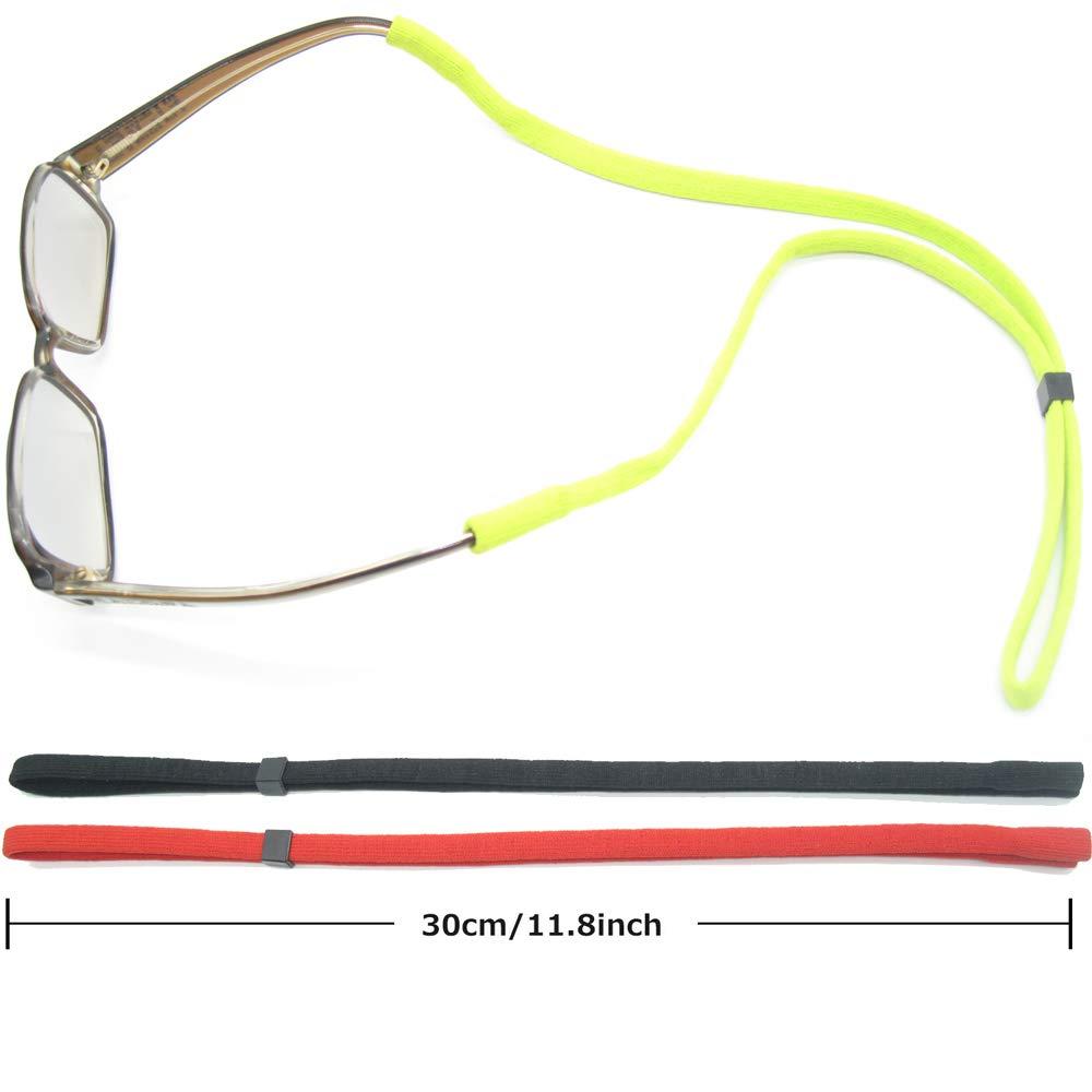 Adjustable Eyewear Retainer TESHIUCK 6 Pack Sunglasses Holder Straps Safety sunglass Eyeglasses Neck Cord String Rope Fit for Men Children Sports Strap