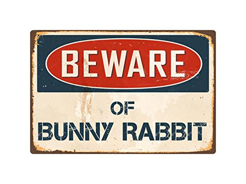 StickerPirate Beware of Bunny Rabbit 8