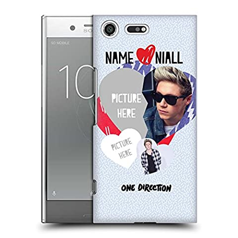 Custom Customized Personalized One Direction 1D Love Niall I Ship Us Hard Back Case for Sony Xperia XZ (Us Premium Hcg)
