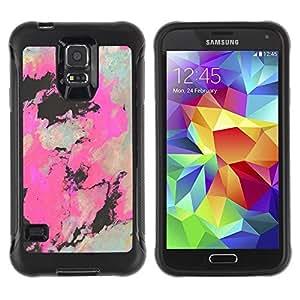 Suave TPU GEL Carcasa Funda Silicona Blando Estuche Caso de protección (para) Samsung Galaxy S5 V / CECELL Phone case / / Art Painting Artistic Drawing /