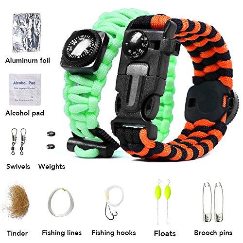 paracord-bracelet-fluorescent-bracelet-climbing-rope-survival-kit-embedded-compassfire-starterthermo