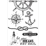 Kaiser Craft Clear Stamp High Tide (12 Pack)