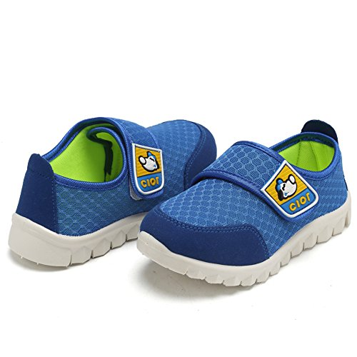 CIOR Kid's Mesh Lightweight Sneakers Baby Breathable Slip-On For Boy and Girl's Running Beach Shoes(Toddler/Little Kid) 15
