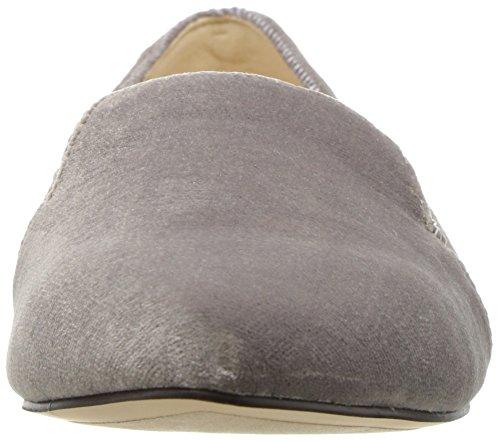 Neun West Damen Sholette Stoff Loafer Flat Dunkelgrau