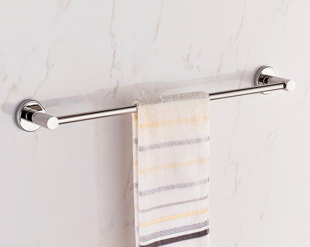 Farbe : A, gr/ö/ße : 40 cm und Doppel-Handtuchhalter handtuchhalter Wand GYMMJ Handtuchst/änder handtuchstange Badetuch-Bar-Bad mit Doppel
