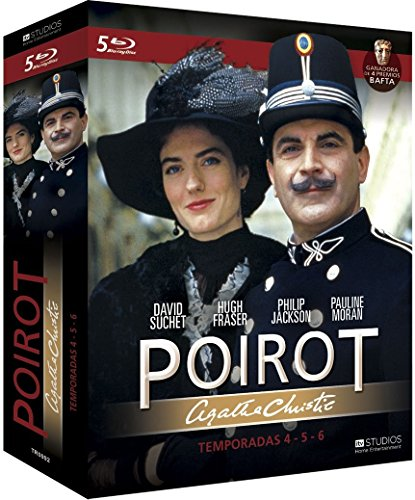 Poirot - Temporadas 4, 5 Y 6 [Blu-ray]