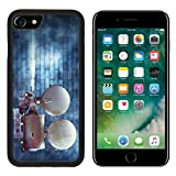 MSD Premium Apple iPhone 7 Aluminum Backplate Bumper Snap Case iPhone7 Vintage cinema film projector against a wall IMAGE 24094448
