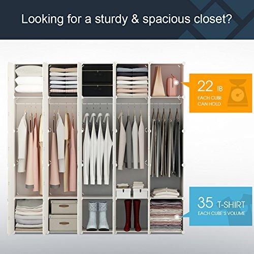 Review KOUSI Portable Clothes Closet