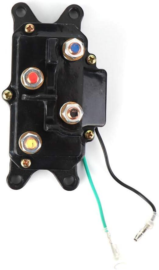 Moligh doll 12V 250A Winch Solenoid Relay Contactor For Atv Utv 2000-5000Lbs Winch