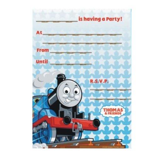 20 Thomas the Tank Engine Party Invitations & Envelopes ()