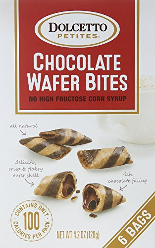 (Dolcetto Petites Chocolate Wafer Bites - Pack of 3, 4.2 Oz. Ea.)