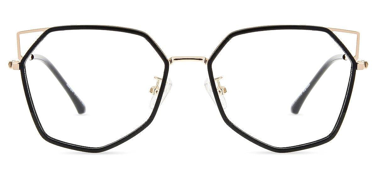 Anti Glare Computer Eyeglasses for Women//Men Anti-eyestrain Firmoo Cateye Blue Light Blocking Glasses