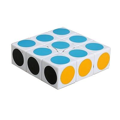 EasyGame LanLan Cube Super Floppy, Blanc, 1x3x3 cubes de vitesse