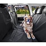 Epxee Dog Seat Cover, Waterproof & Nonslip Car Seat Cover for Pets Durable Large Size Dog Seat Cover for Cars Trucks and SUVs – Black Review