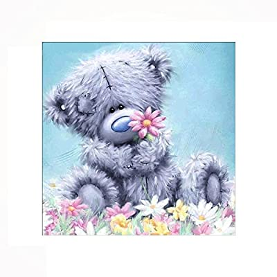 Decdeal Bear DIY 5D Diamond Painting Kit Craft Home Wall Decor 12 x 12 inches: Arts, Crafts & Sewing